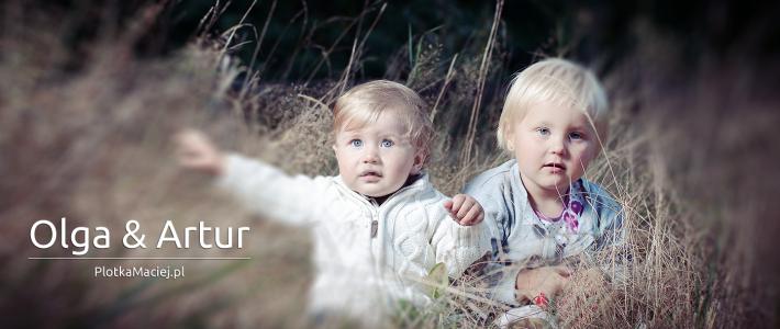 Olga i Artur – fotografia dziecięca Sierakowice