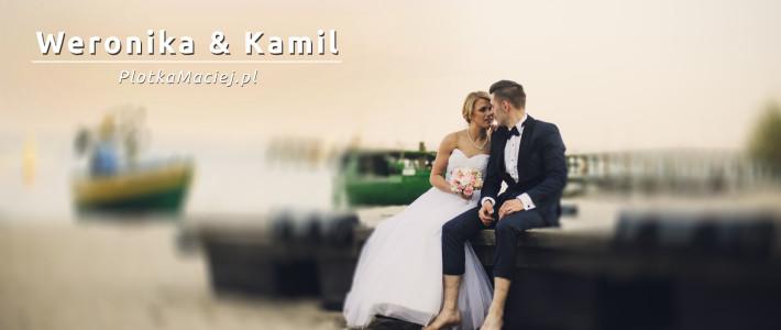 Weronika & Kamil – fotograf ślubny Kaszuby