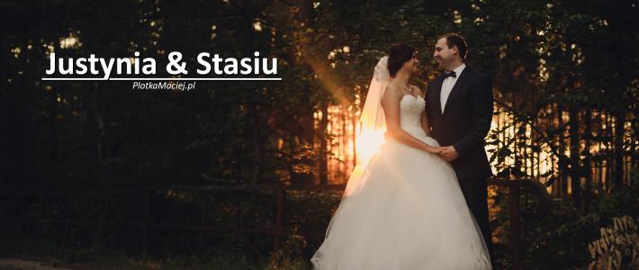 Justyna & Stasiu – fotograf ślubny Maciej Płotka