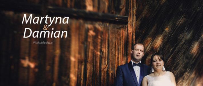 Martyna & Damian- fotograf ślubny Goręczyno