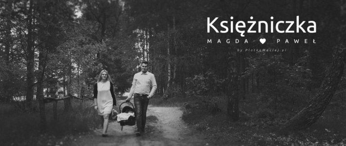 Magda, Paweł oraz ich małe szczęście… – sesja rodzinna Sierakowice